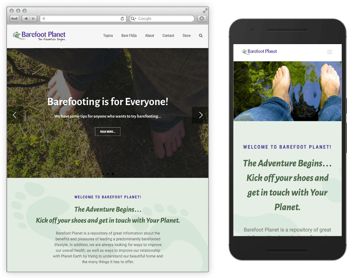 Barefoot Planet Home Page