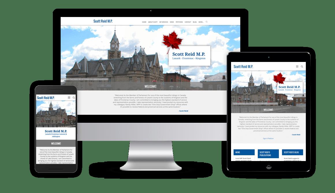 Scott Reid Website