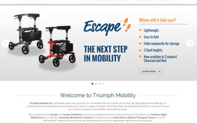 Triumph Mobility – Site Launch